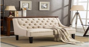 tufted loveseat image